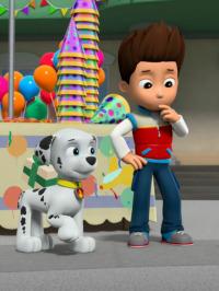 La Patrulla Canina. T5.  Episodio 26: La patrulla salva la sorpresa de cumpleaños de Ace / La patrulla salva una torre de pizza