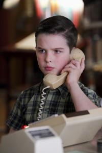 El joven Sheldon. T3.  Episodio 3: Un emprendedor y un azote en el trasero