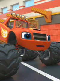Blaze y los Monster Machines. T4.  Episodio 1: Poder de robot