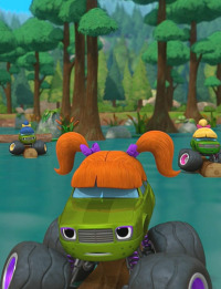 Blaze y los Monster Machines. T4.  Episodio 2: La acampada de la Familia Pickle