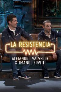 La Resistencia: Selección.  Episodio 193: Alejandro Valverde e Imanol Erviti - Entrevista - 18.12.1