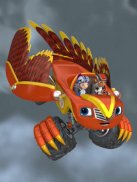 Blaze y los Monster Machines. T3.  Episodio 13: La Búsqueda del Halcón