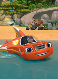 Blaze y los Monster Machines. T3.  Episodio 15: La gran corona animal