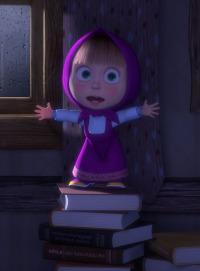 Las historias espeluznantes de Masha. T1.  Episodio 6: La historia terrible de la niña supersticiosa