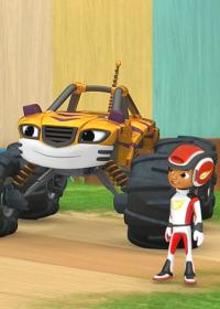 Blaze y los Monster Machines. T5.  Episodio 4: Los heroes niñeros