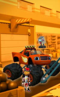 Blaze y los Monster Machines. T1.  Episodio 11: Tartástrofe