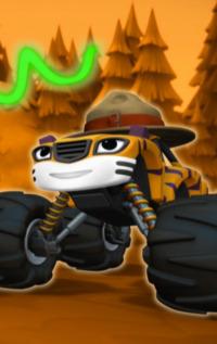 Blaze y los Monster Machines. T1.  Episodio 15: Cochexploradores