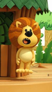 Raa Raa, el león ruidoso. T1.  Episodio 34: El juego ondulante de OOO OOO