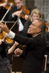 Alfred Brendel y Claudio Abbado en el Festival de Lucerna