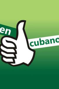 En buen cubano. En buen cubano