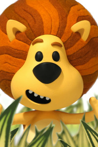 Raa Raa, el león ruidoso. T1.  Episodio 30: Boing-boing