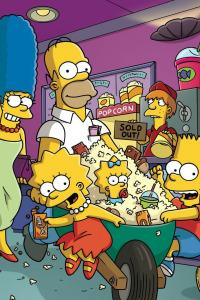 Los Simpson. T8.  Episodio 17: Mi hermana, mi canguro