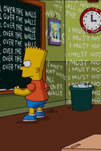 Los Simpson. T10.  Episodio 11: Los Barts salvajes no pueden romperse