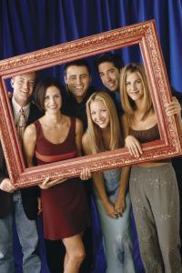Friends. T5.  Episodio 17: El del accidental beso de Rachel