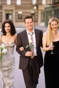 Friends. T7.  Episodio 5: El de la foto de compromiso