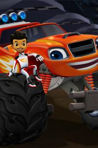 Blaze y los Monster Machines. T1.  Episodio 5: Las ruedas súper saltarinas