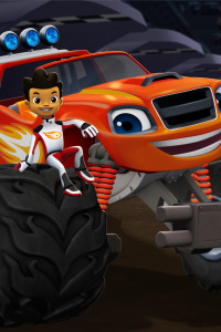 Blaze y los Monster Machines. T1.  Episodio 8: El desafío de coches por equipos