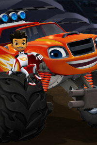 Blaze y los Monster Machines. T2.  Episodio 9: ¡Darington a la luna!