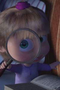 Las historias espeluznantes de Masha. T1.  Episodio 26: La increíble historia de una niña con miedo de todo