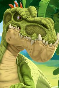 Gigantosaurus. T2. Gigantosaurus