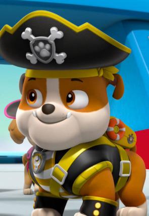La Patrulla Marina: cachorros piratas al rescate