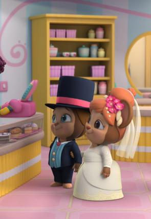 ¡El cambiazo de la tarta de boda! / ¡Parfaits de frambuesa!