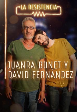 David Fernández y Juanra Bonet