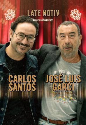 José Luis Garci y Carlos Santos