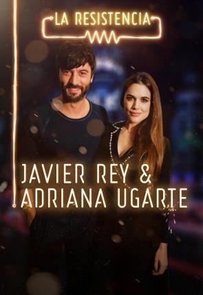Adriana Ugarte y Javier Rey
