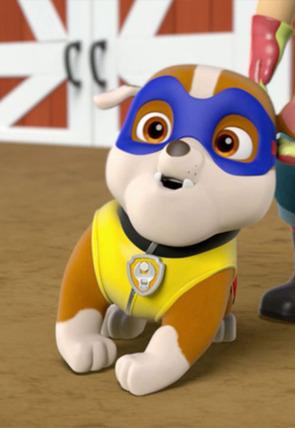 La Patrulla salva a un super perro / La Patrulla salva a un super robot de Ryder