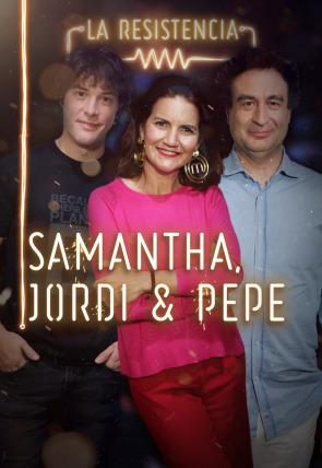 Samantha Vallejo-Nágera, Jordi Cruz y Pepe Rodríguez