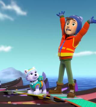 Episodio 2: La Patrulla salva a un Pingüino / La Patrulla salva el concurso de Gatos