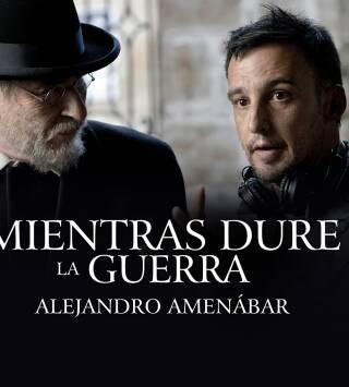 Mientras dure la guerra, Alejandro Amenábar