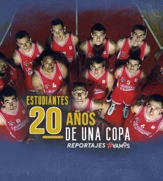 Estudiantes. 20 años de una Copa