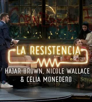 Episodio 270: Hajar Brown, Nicole Wallace y Celia Monedero - Entrevista - 11.03.20