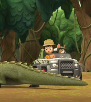 Episodio 6: La patrulla a la burbuja maloliente / La patrulla salva a las crías de avestruz