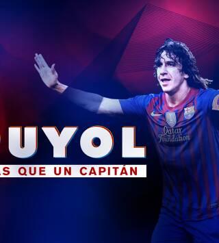 Puyol, más que un capitán