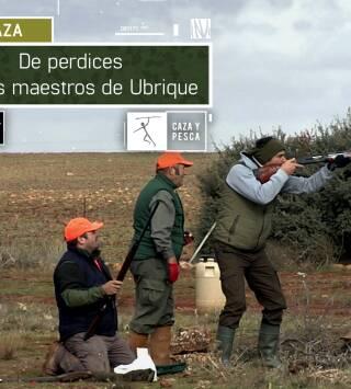 De perdices con los maestros de Ubrique