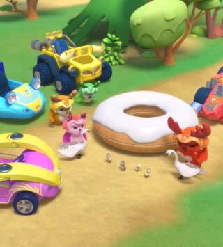 Episodio 5: Los donuts siembran el pánico / El problema del helado
