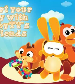 Empieza tu día con los amigos de BabyTV