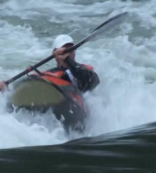 Alpine Freestyle Kayaking