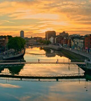 Irlanda desde el cielo