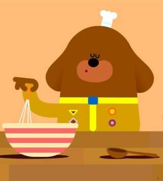 Episodio 2: Duggee y la insignia de pastelería