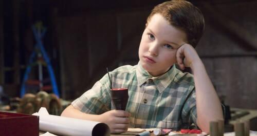 El joven Sheldon. T1. Cohetes, comunistas y bibliotecas
