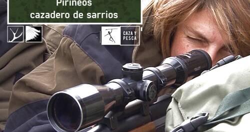 Pirineos, cazadero de sarrios