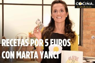 Recetas por 5 euros