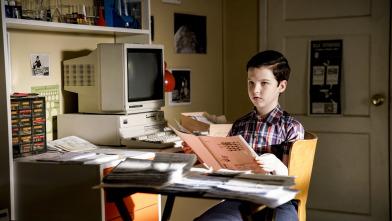El joven Sheldon - Un secreto financiero y salsa de pescado
