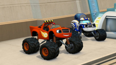Blaze y los Monster Machines - ¡Darington a la luna!