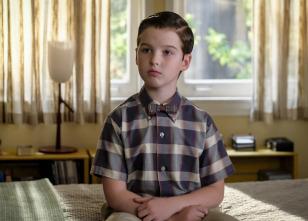 El joven Sheldon - Un dolor de tripa y una metáfora en forma de ballena