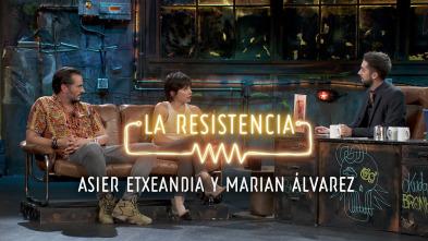 La Resistencia: Selección - Asier Etxeandia y Marian Álvarez - Entrevista - 26.09.1